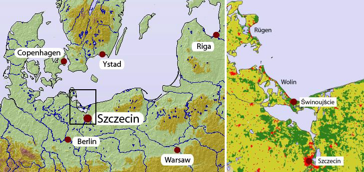 International Conference On Climate Change In The Southern Baltic - Sweden map ystad