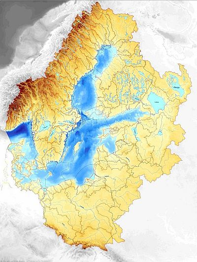 Baltex the baltic sea catchment basin the baltic sea catchment basin covers an area of 213 million km which is almost 20 of the european continent 85 million people in 14 countries live in publicscrutiny Choice Image